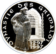 Token - Dynastie des Grimaldi 1297-1997 – reverse