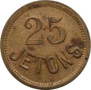 25 Jetons - Magasin Etranger (St. Petersburg) – reverse