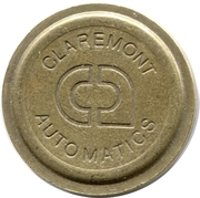 Token - Claremont Automatics – reverse
