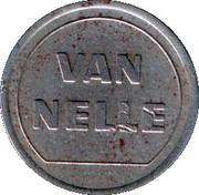 Token - Van Nelle – reverse
