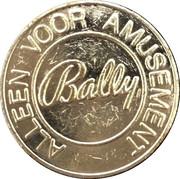 Token - Bally (Jackpot v.d. Ven) – reverse