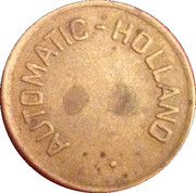 Token - Automatic Holland (Automatische Cantine) – obverse