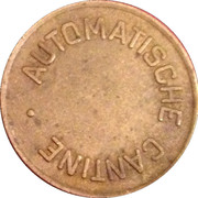 Token - Automatic Holland (Automatische Cantine) – reverse