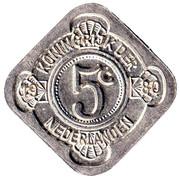 5 Cents - Beatrix (King Willem-I / Willem-II / Willem-III) – reverse