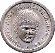 5 Cents - Beatrix (Prince Maurits) – obverse