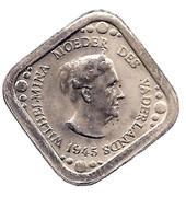 "5 Cents - Beatrix (Wilhelmina; ""Moeder des Vaderlands"") – obverse"