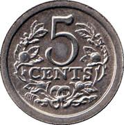 5 Cents - Beatrix (Prince Johan Friso) – reverse
