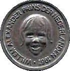 5 Cents - Beatrix (Prince Willem Alexander) – obverse