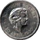 5 Cents - Beatrix (Inauguration) – obverse