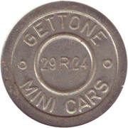 Token - Gettone Mini Cars (29R24) – obverse