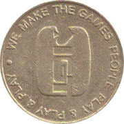 Token - We make the games people play & play & play – obverse