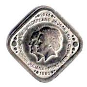 5 Cents - Beatrix (Queen Juliana - Prince Bernhard) – obverse
