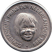 5 Cents - Beatrix (Prince Constantijn) – obverse