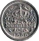 5 Cents - Beatrix (Coat of Arms) – obverse
