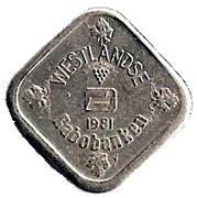 5 Cents - Beatrix (Westlandse Rabobanken) – reverse
