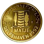 1 Matje - Delfshaven – obverse