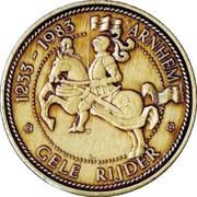 Gele Rijder - Arnhem (750 years) – reverse