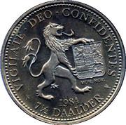 7 ½ Daalder - Prins Willem van Oranje – reverse