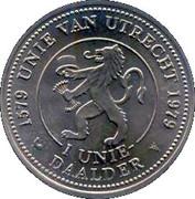 1 Unie Daalder - Utrecht (400 years) – obverse