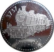 Token - Spoorweg Museum (Dutch railway museum; 3737 Locomotive) – obverse