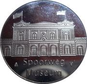 Token - Spoorweg Museum (Dutch railway museum; 3737 Locomotive) – reverse