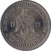 Europees Koningschieten Noviomagus Carolus Aeneus 1977 – obverse