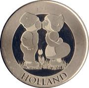 Holland-Boer en Boerin Souvenir Token – obverse