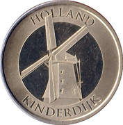 Holland - Kinderdijk 2012 Souvenir Token – obverse