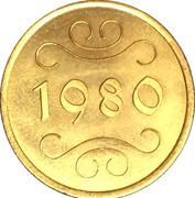 Royal Dutch Mint Set Token – reverse