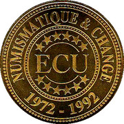 1 ECU - Numismatics and Change – obverse