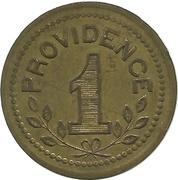 1 Franc - Forges de la Providence – reverse