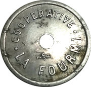 Token - 1 Partage (Cooperative La Fourmi) – obverse