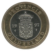 Royal Dutch Mint Token - Gelderland – obverse