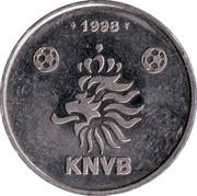 Token - KNVB (Winston Bogarde) – reverse