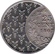 's Rijksmunt 90 years state owned -  obverse