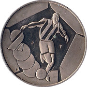 Token - Football 2000 – obverse