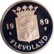 Royal Dutch Mint Set Token - Flevoland – obverse