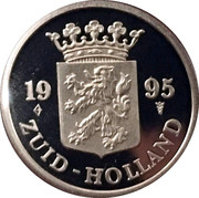 Royal Dutch Mint Set Token - Zuid-Holland – obverse