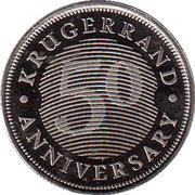 Token - 50 Anniversary Krugerrand – obverse
