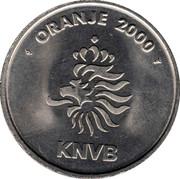 Token - KNVB Oranje 2000 (Michael Reiziger) – reverse