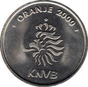 Token - KNVB Oranje 2000 (Phillip Cocu) – reverse