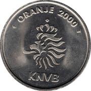 Token - KNVB Oranje 2000 (Kees van Wonderen) – reverse