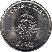 Token - KNVB Oranje 2000 (Ruud van Nistelrooy) – reverse