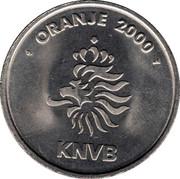 Token - KNVB Oranje 2000 (Patrick Kluivert) – reverse