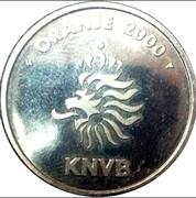 Token - KNVB Oranje 2000 (Edwin van der Sar) – reverse