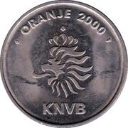 Token - KNVB Oranje 2000 (Marc van Hintum) – reverse