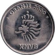 Token - KNVB Oranje 2000 (Aron Winter) – reverse