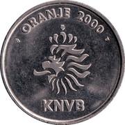 Token - KNVB Oranje 2000 (Arthur Numan) – reverse