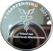 Jaarpenning 2001 – reverse