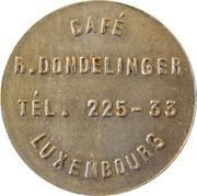Token - Café R. Dondelinger (Luxembourg) – obverse